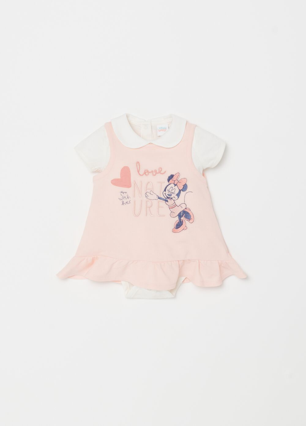 Disney Baby Minnie Mouse bodysuit and dress set