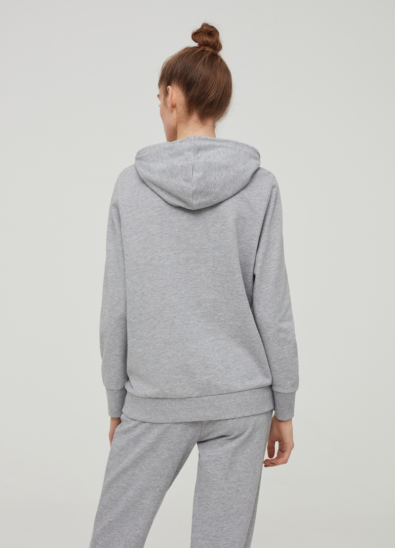 Cotton and viscose mélange sweatshirt image number null