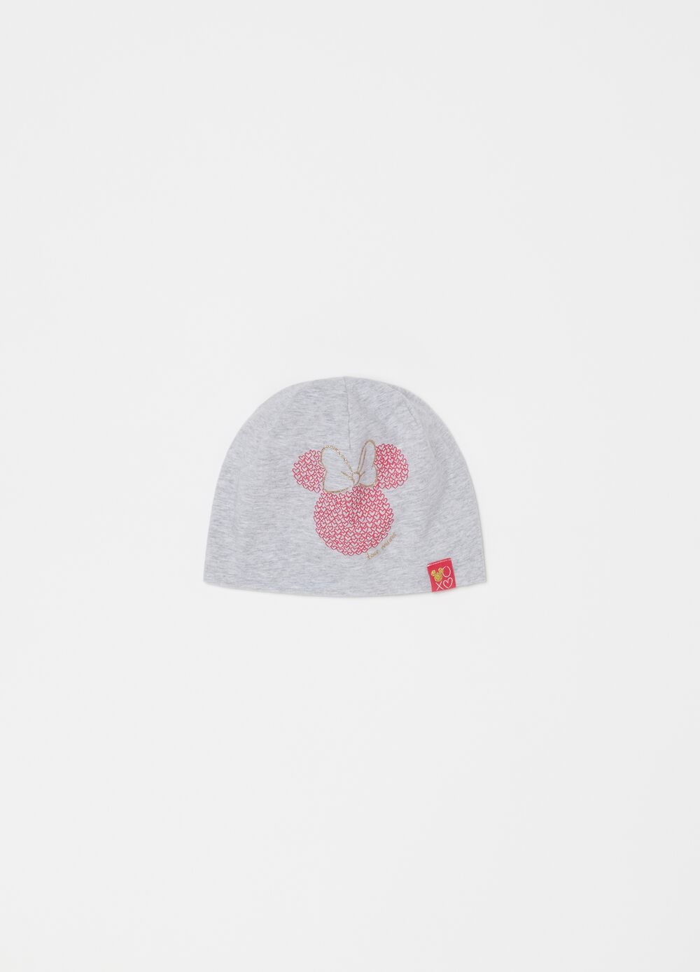 Disney Minnie Mouse hat in French terry
