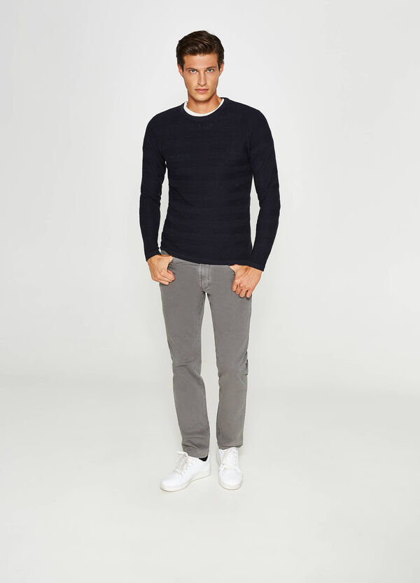 Jogger-fit stretch trousers   OVS