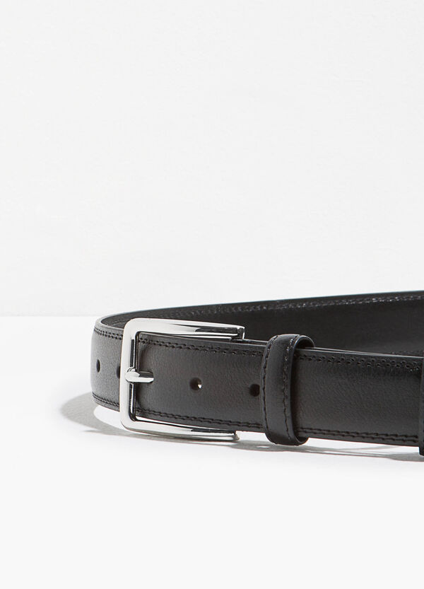 Textured belt with buckle | OVS