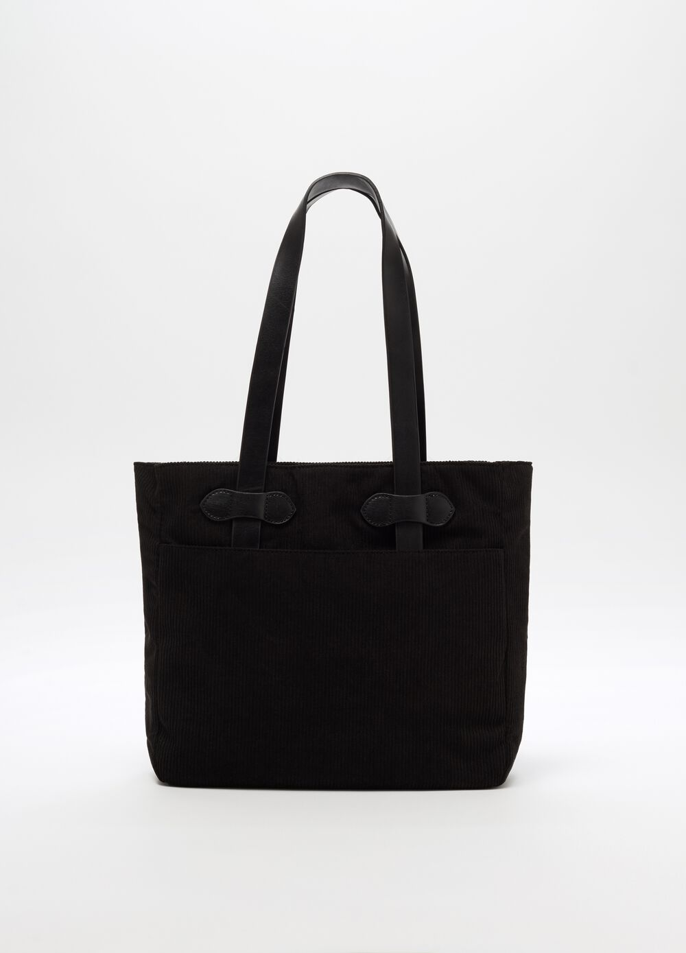 Shopper bag with handles and pocket