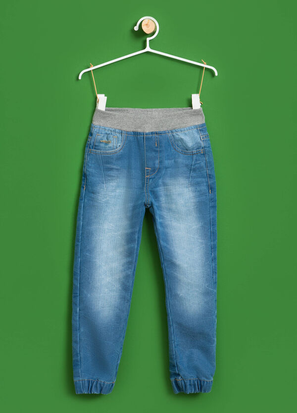 Jeans cuff hem effetto used | OVS
