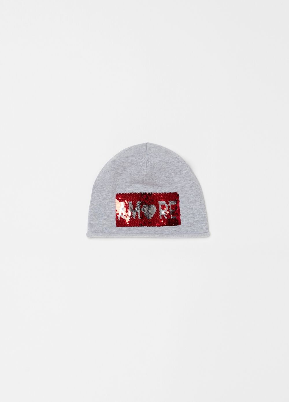 Stretch hat with sequins