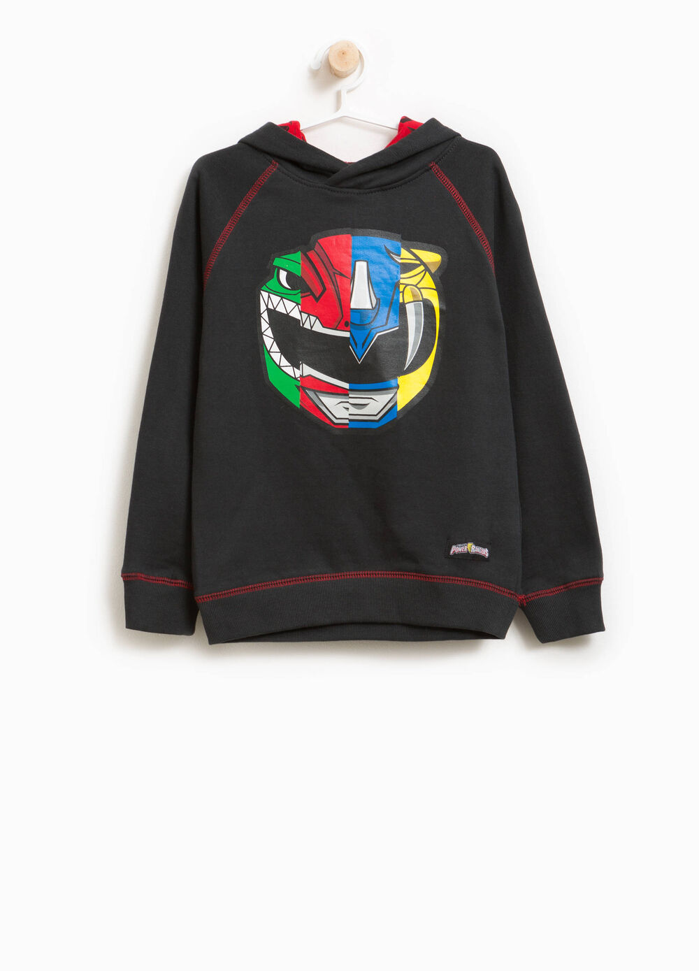 Sweat-shirt avec capuche Power Rangers