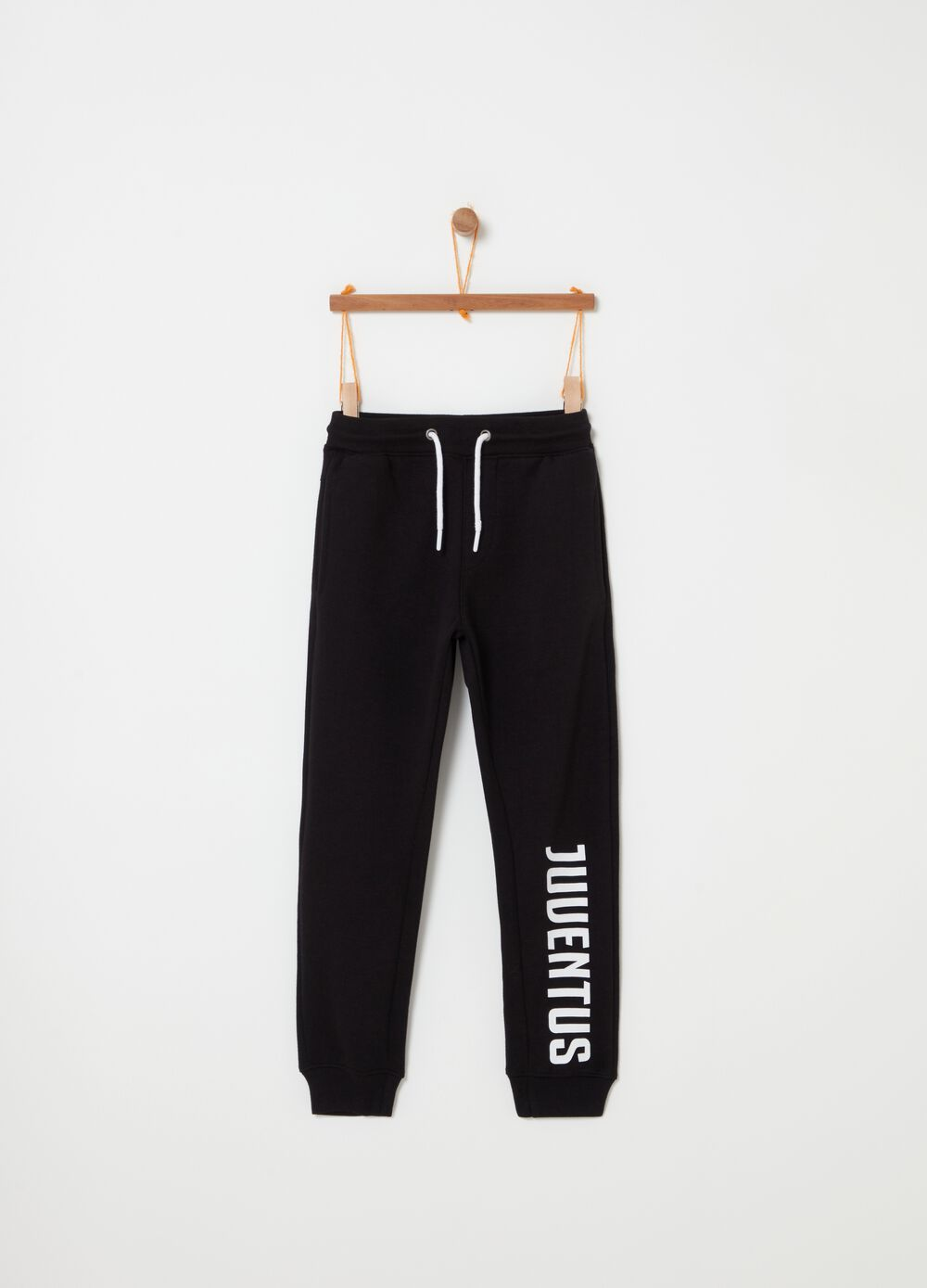 French terry Juventus trousers