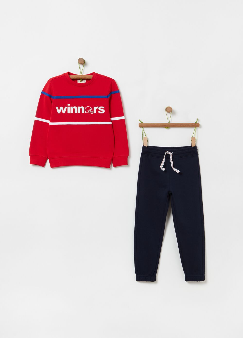 French terry jogging set