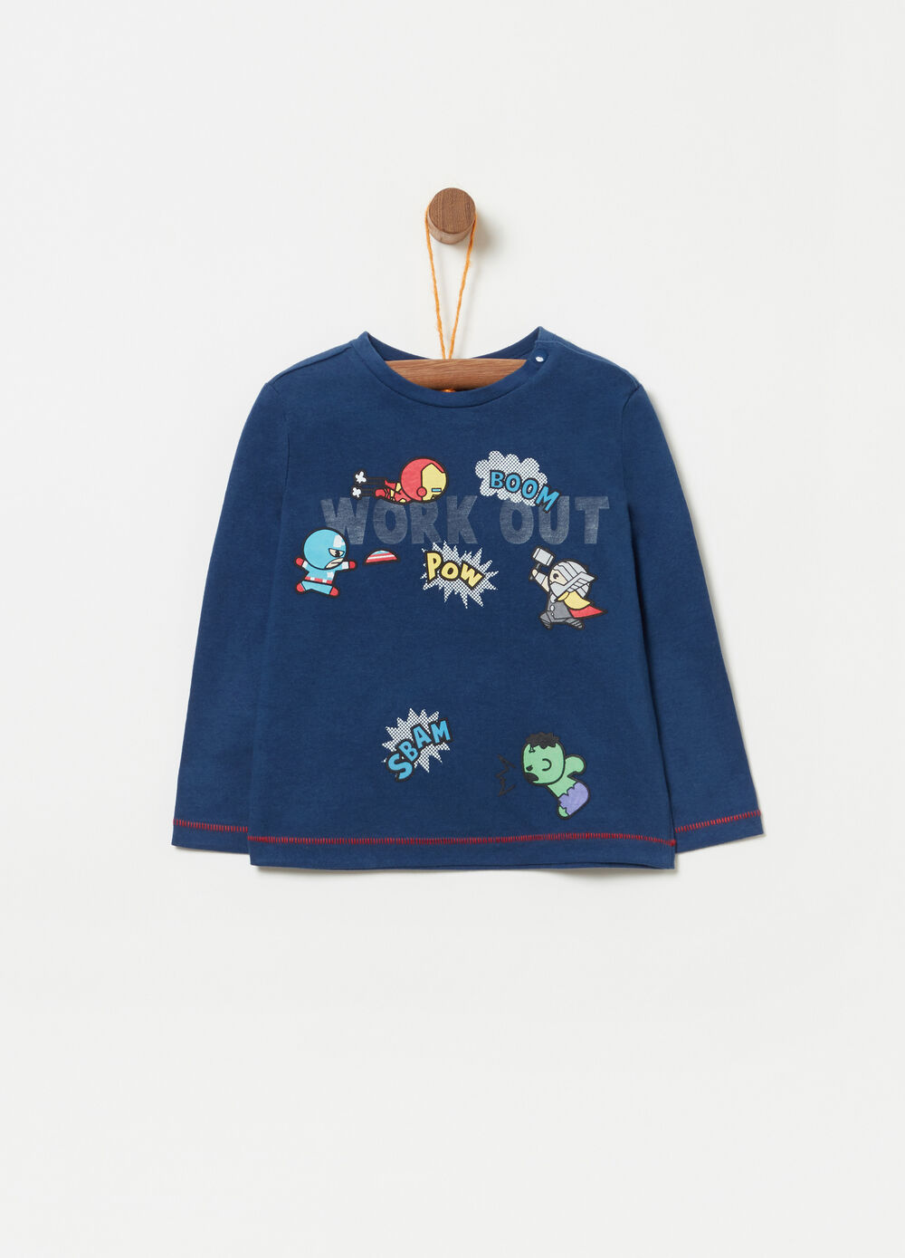 Marvel Kawaii Art Collection cotton sweatshirt
