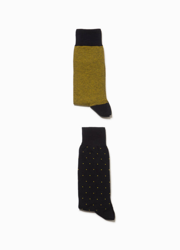 Two-pack Rumford patterned socks
