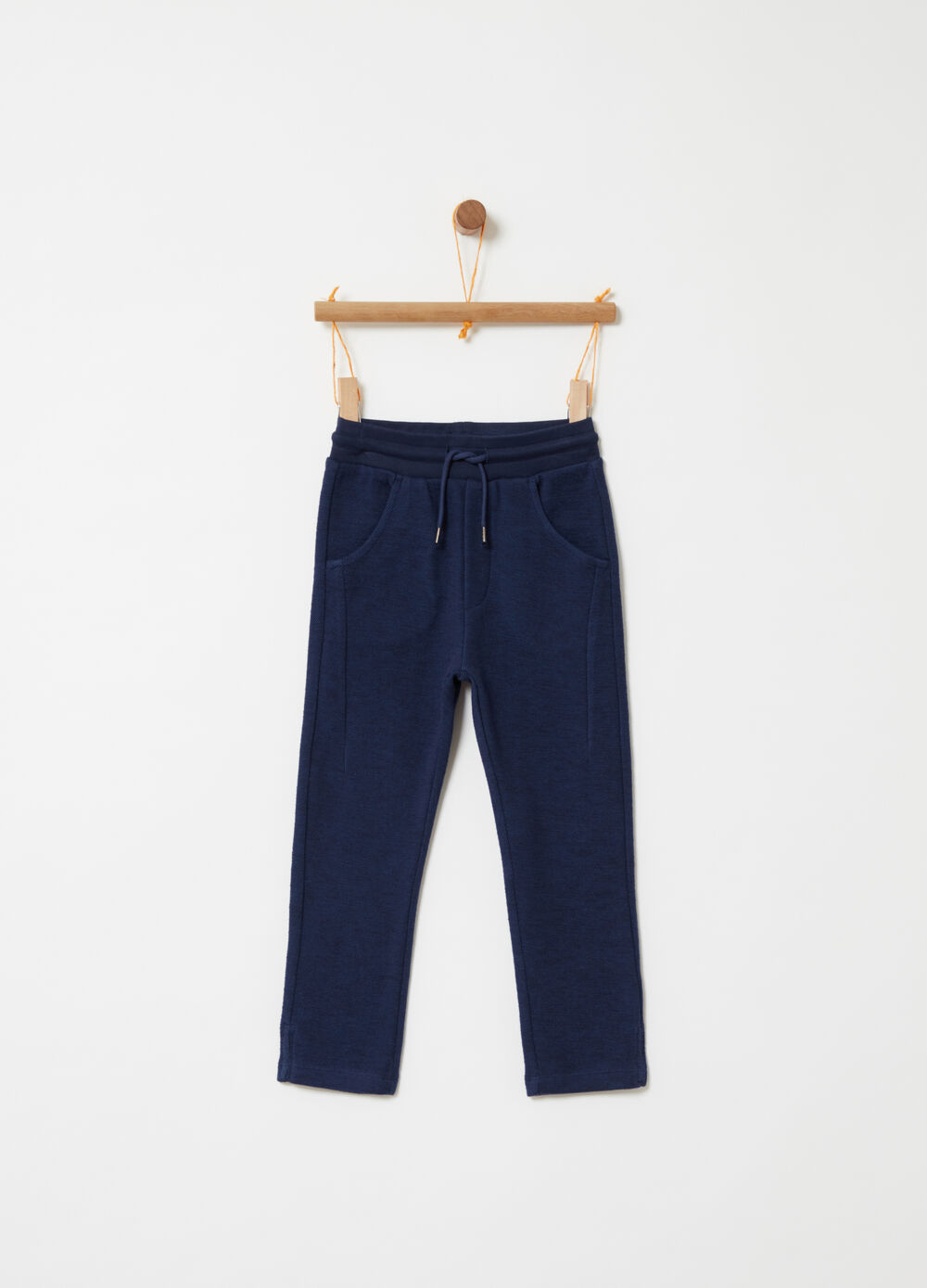 49793f59a3c29 Yarn-dyed trousers with functional pockets
