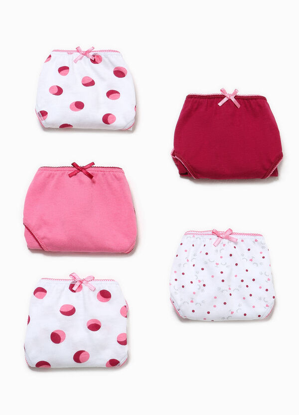 Set cinque slip unito fantasia Better Cotton | OVS