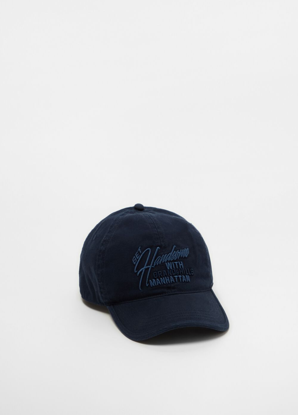 Baseball cap with embroidery