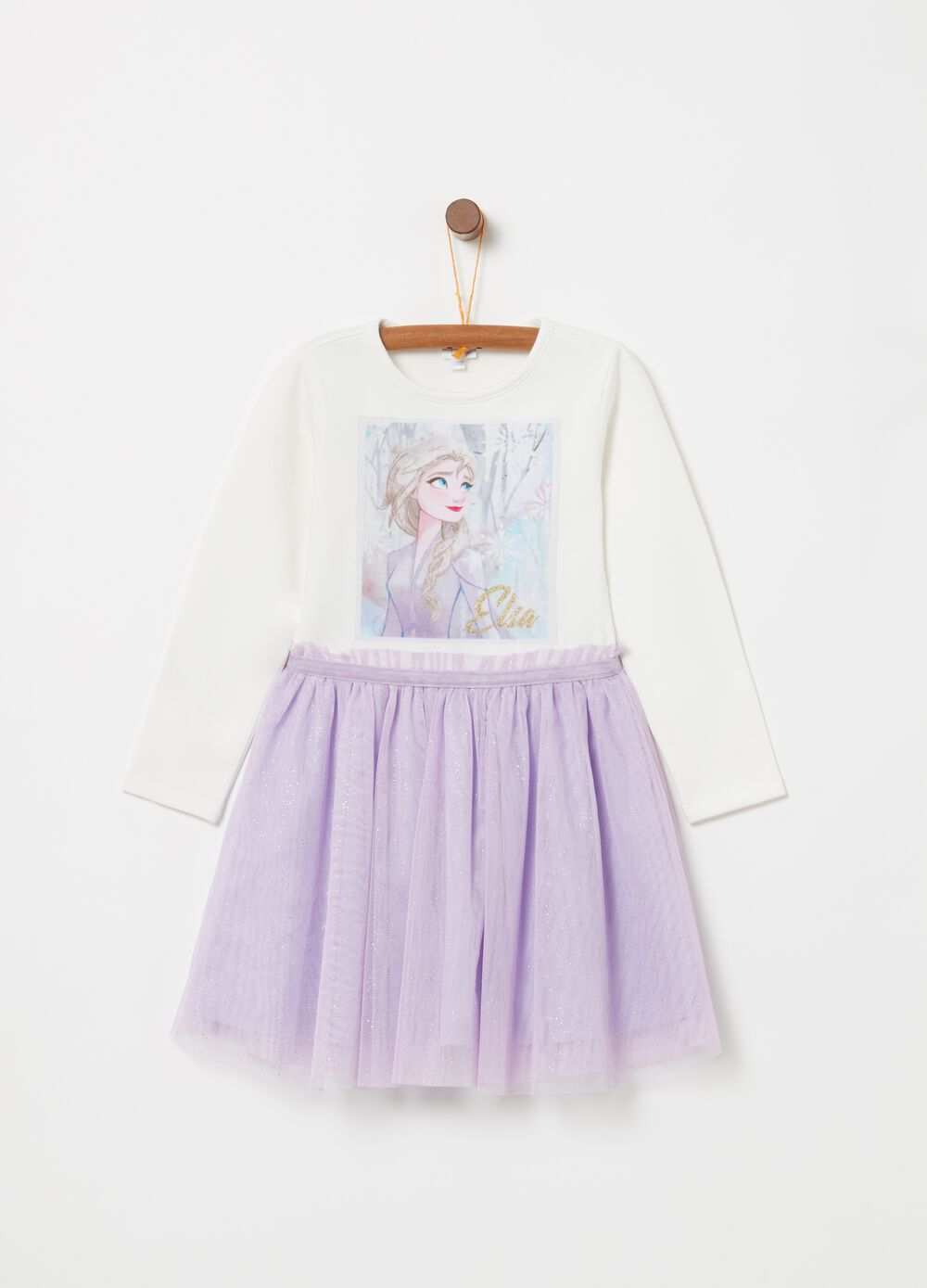 Disney Frozen dress with tulle skirt