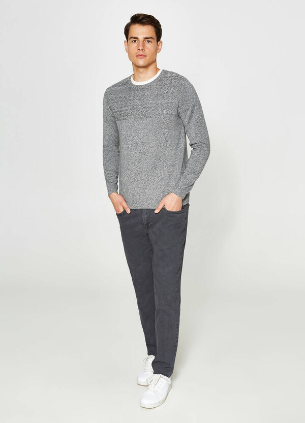 Slim fit, stretch cotton trousers | OVS