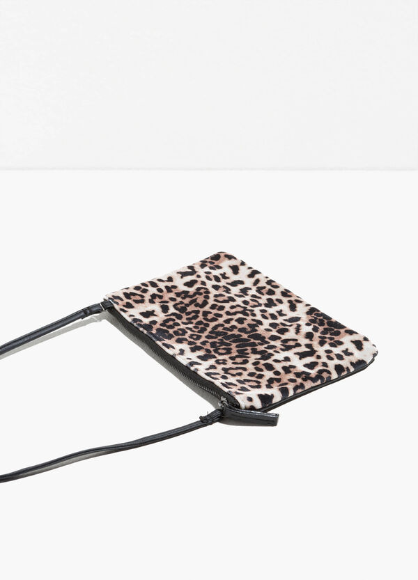 Shoulder bag with animal print | OVS