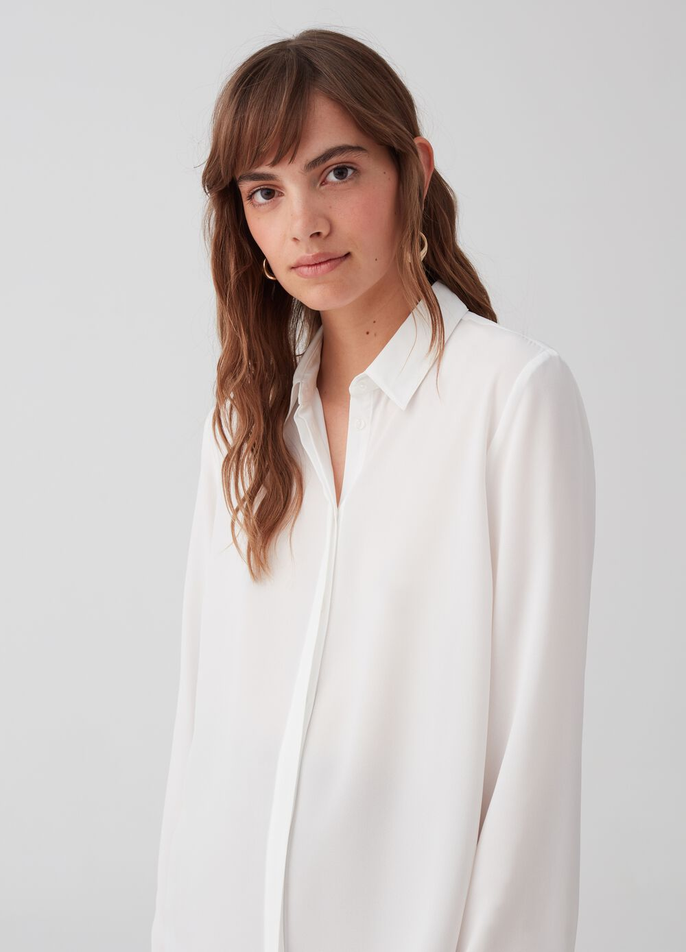 Formal shirt in georgette