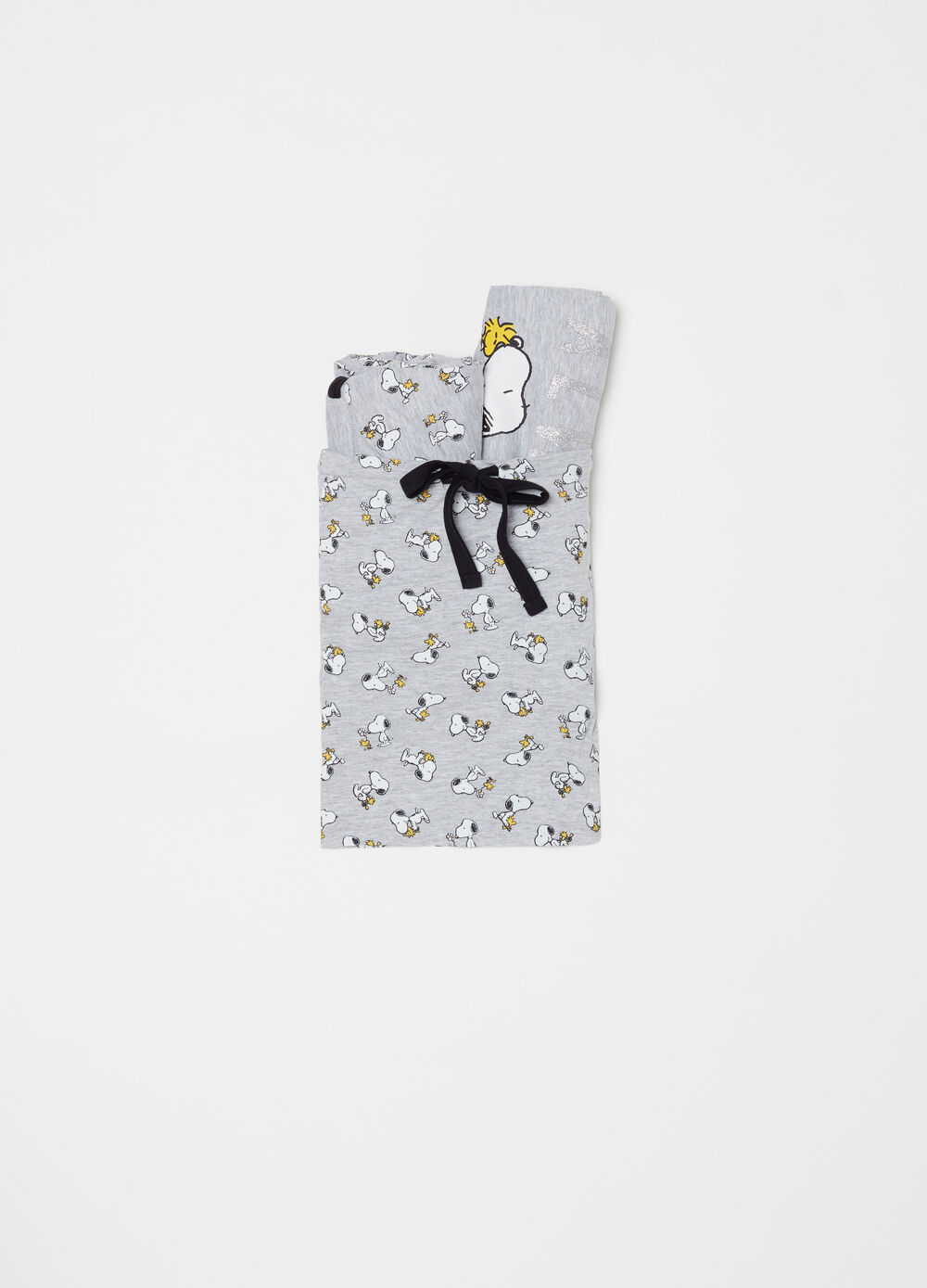 Mélange pyjamas with Snoopy print