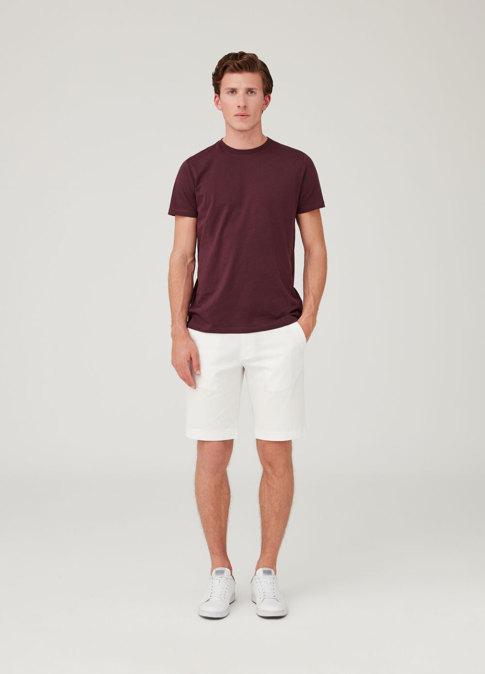 Shorts chinos regular fit cinco bolsillos