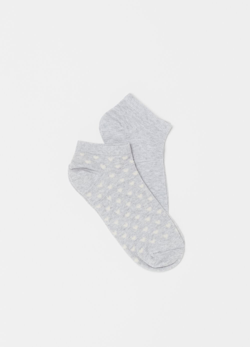 Two-pack 100% cotton short socks