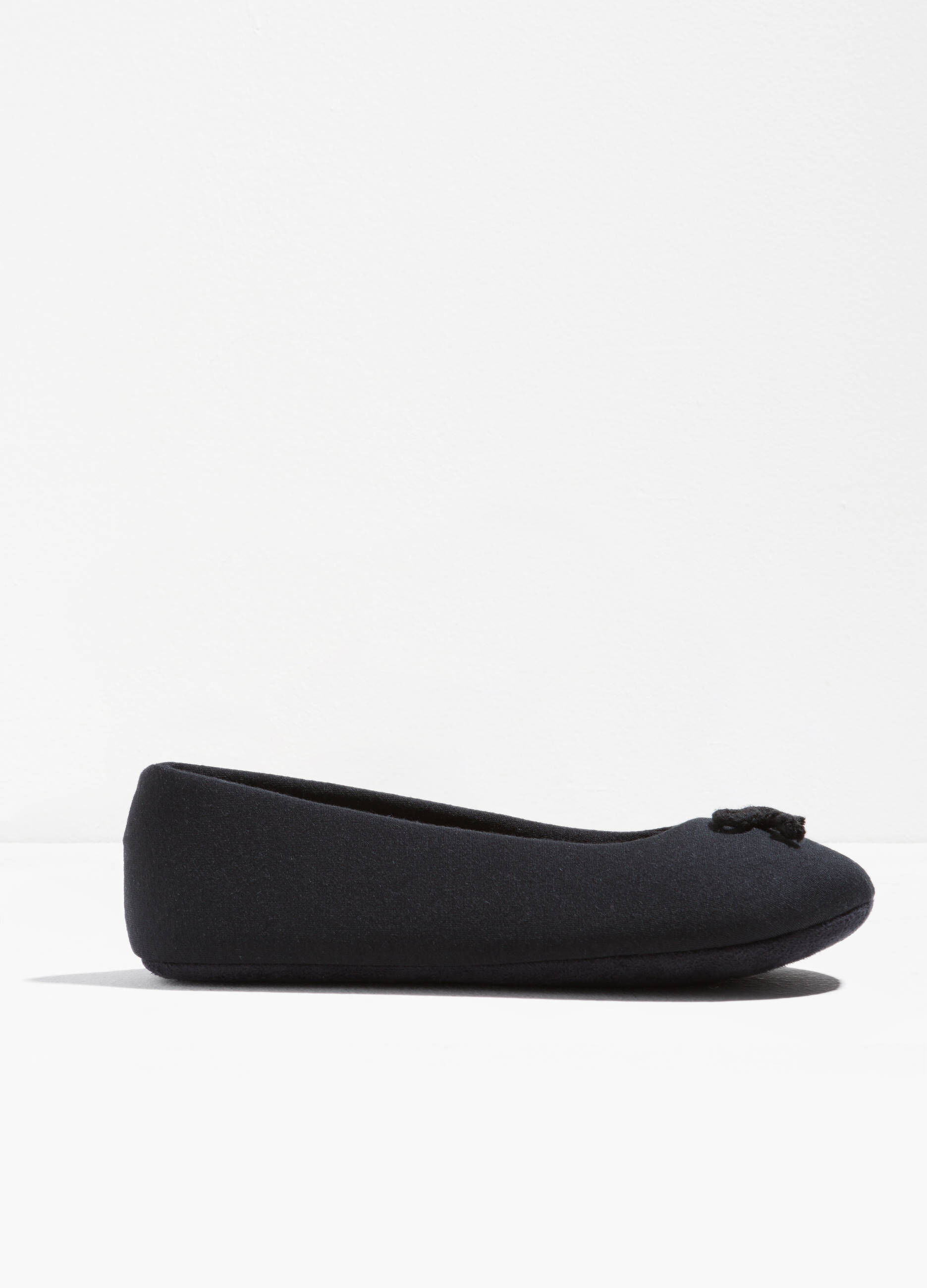 Canvas ballerina flats with bow | OVS-ES
