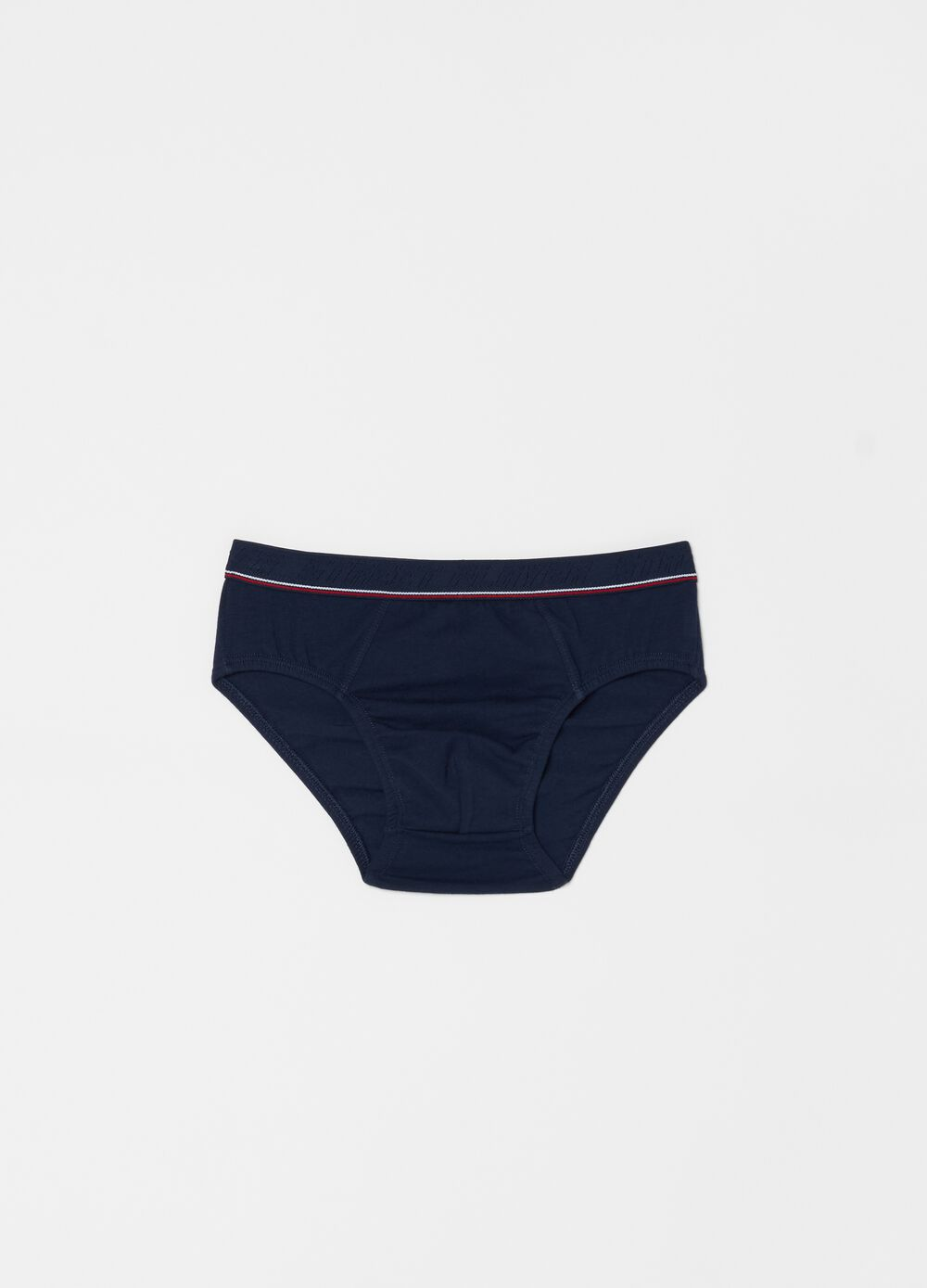 Stretch organic cotton briefs