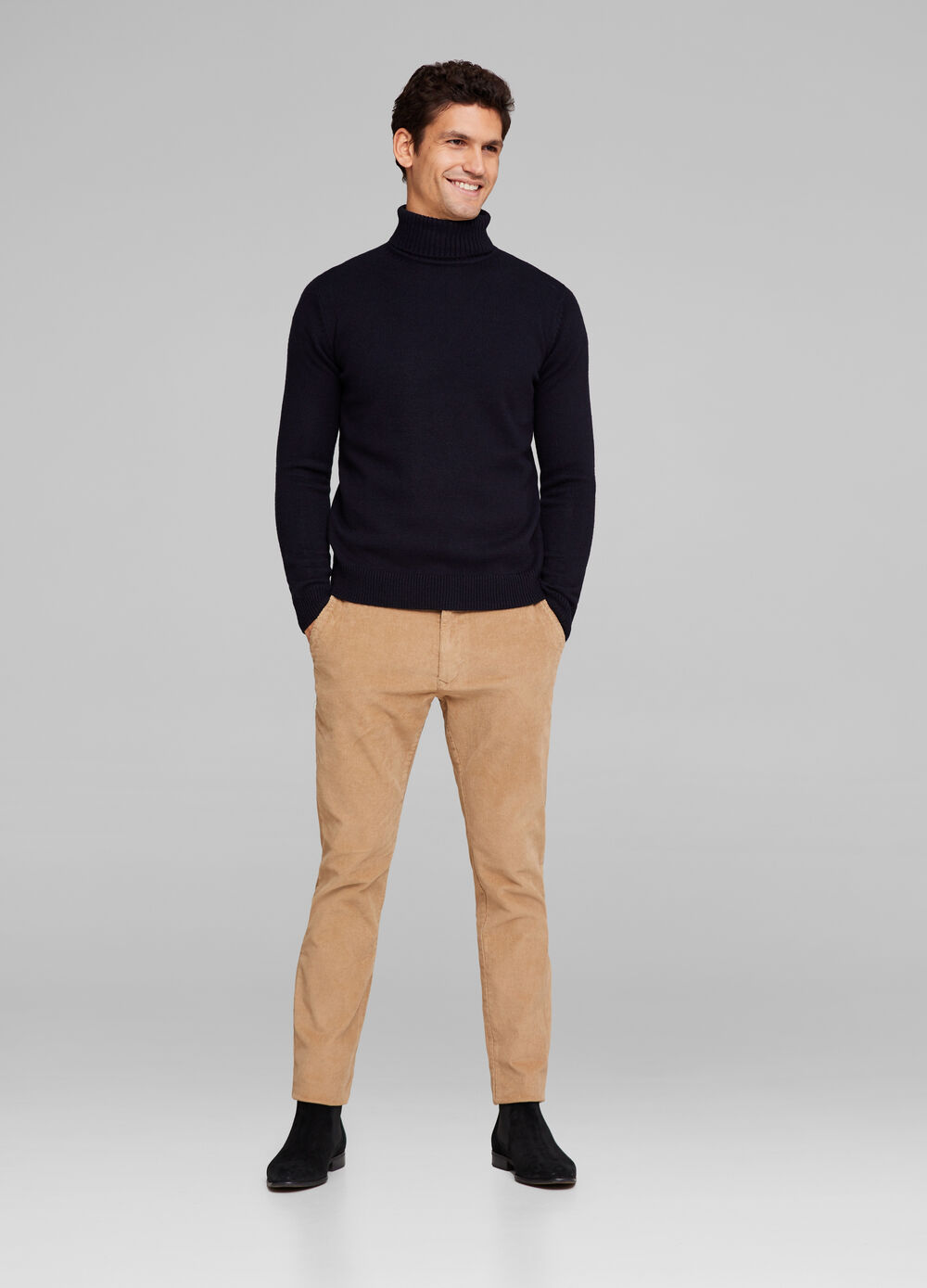 Premium stretch chino trousers