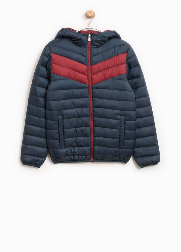 Jacket with hood and inserts | OVS