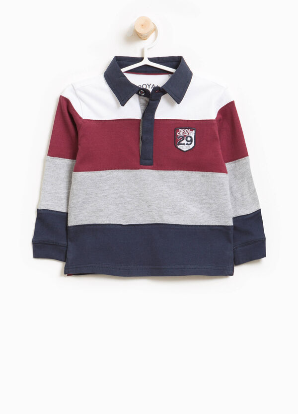 Striped polo shirt in 100% cotton | OVS