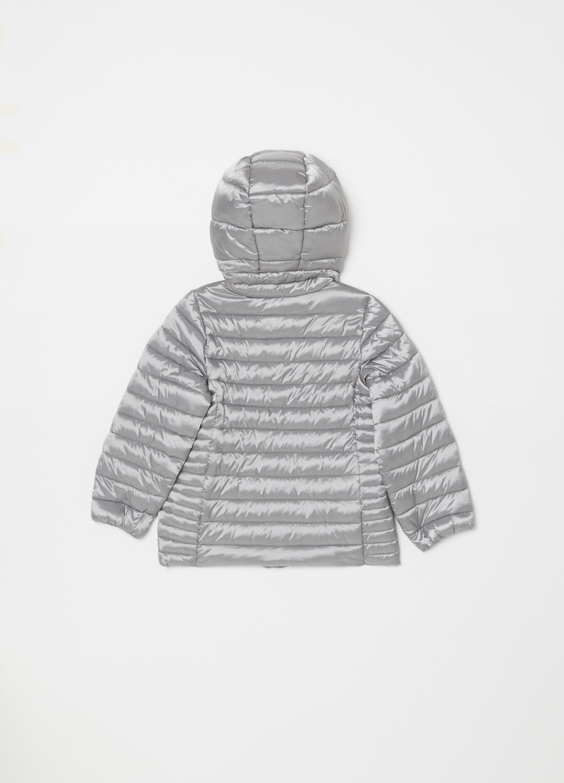 Padded lightweight jacket with zip image number null