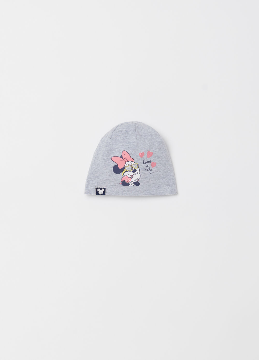 Cotton beanie with Disney Minnie Mouse print