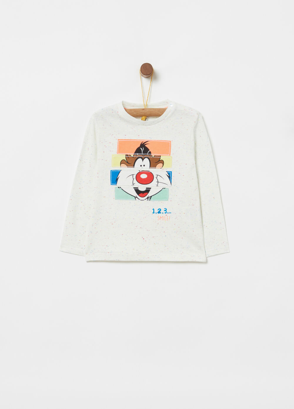 Long-sleeved Looney Tunes T-shirt