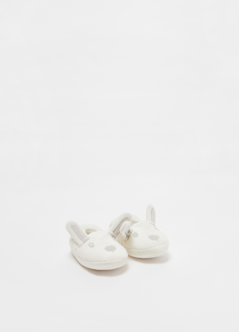 Rabbit slippers with ears image number null
