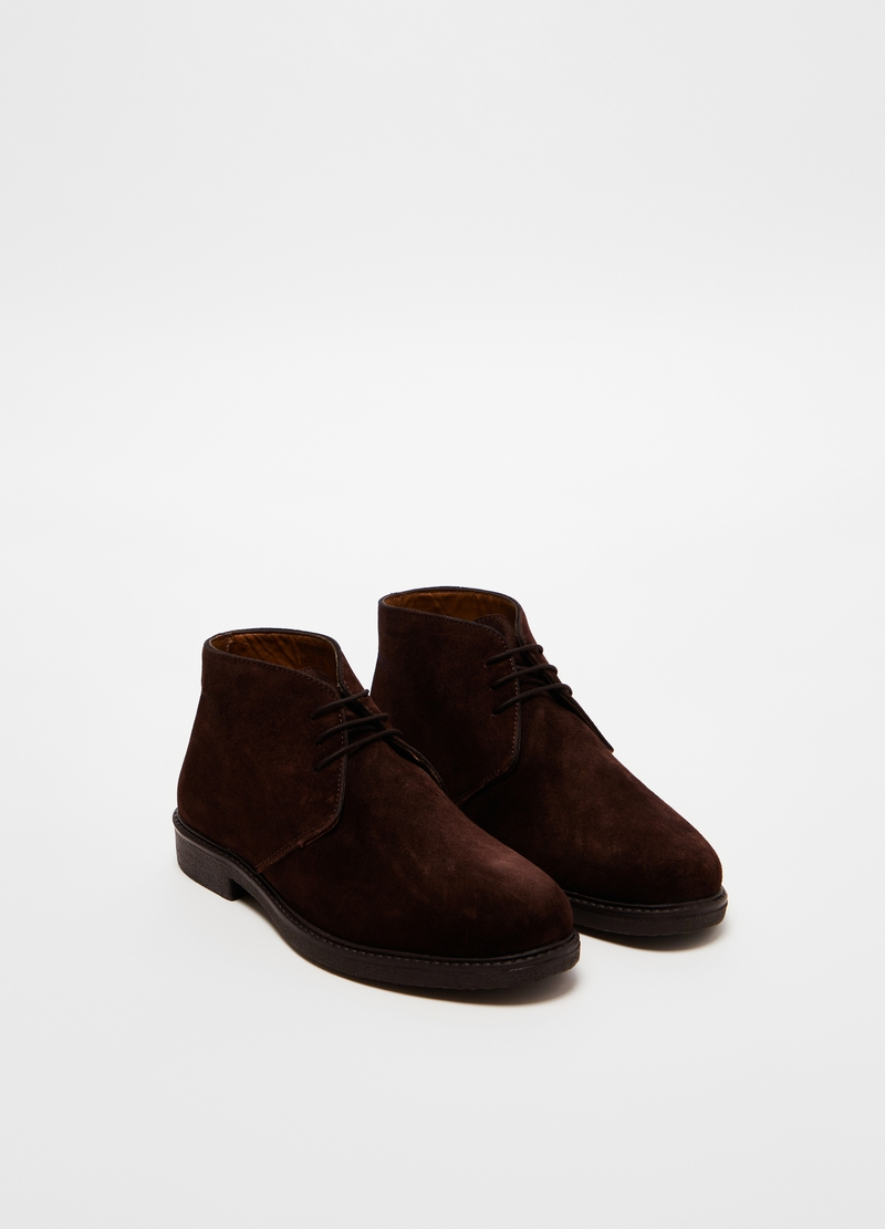 PIOMBO suede leather shoes image number null