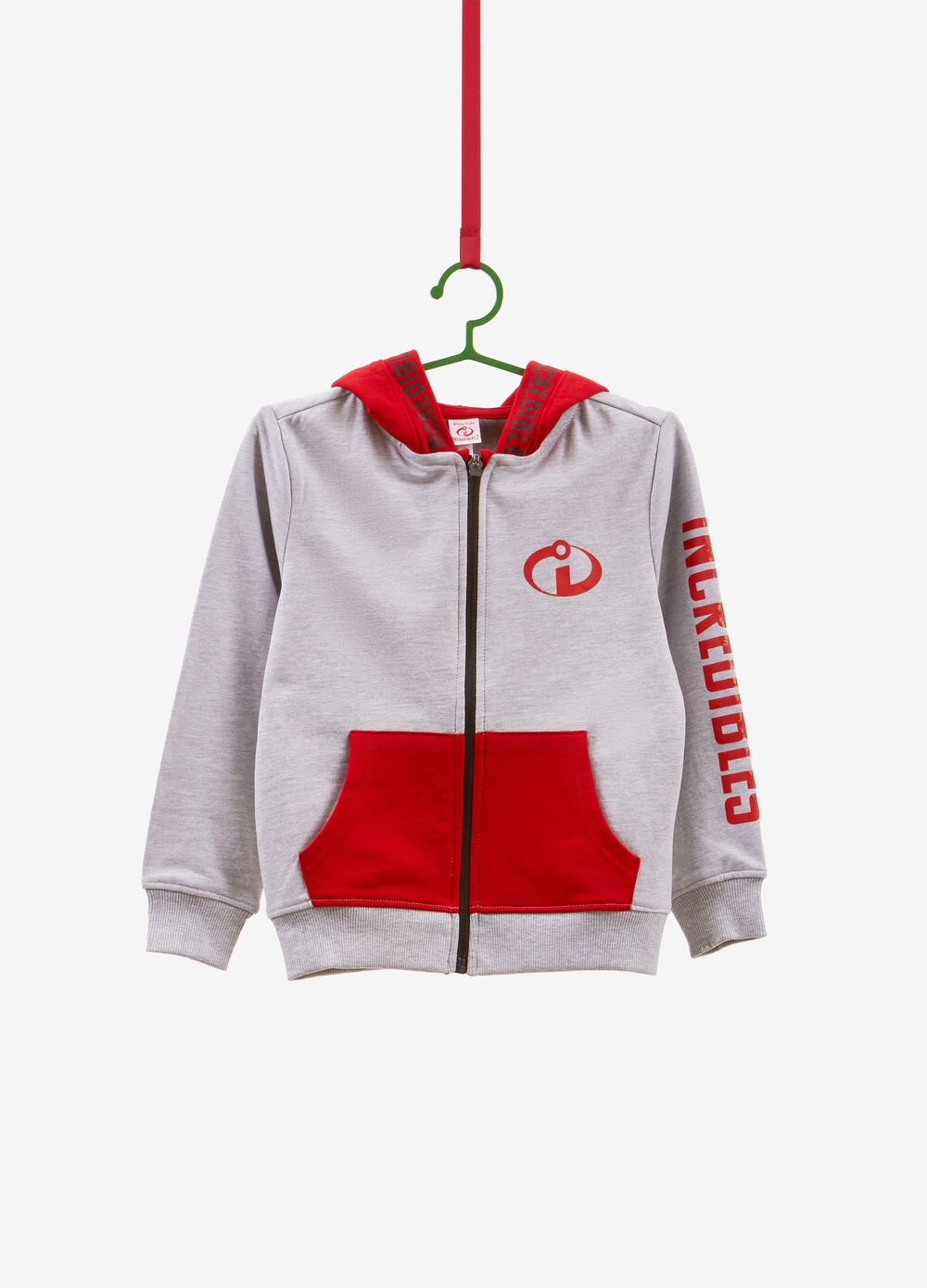 The Incredibles sweatshirt with hood and zip