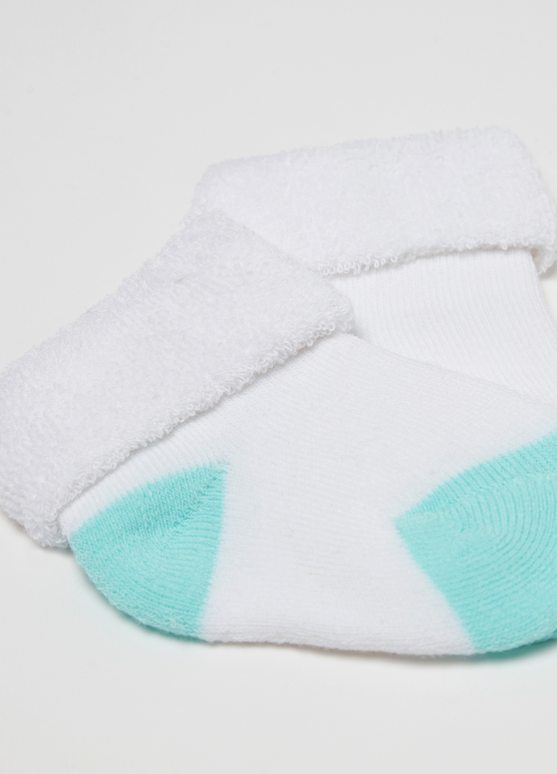 Short stretch socks with terry fold image number null