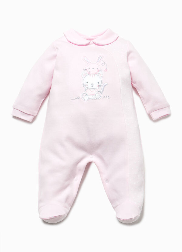 Onesie with star patterned insert | OVS