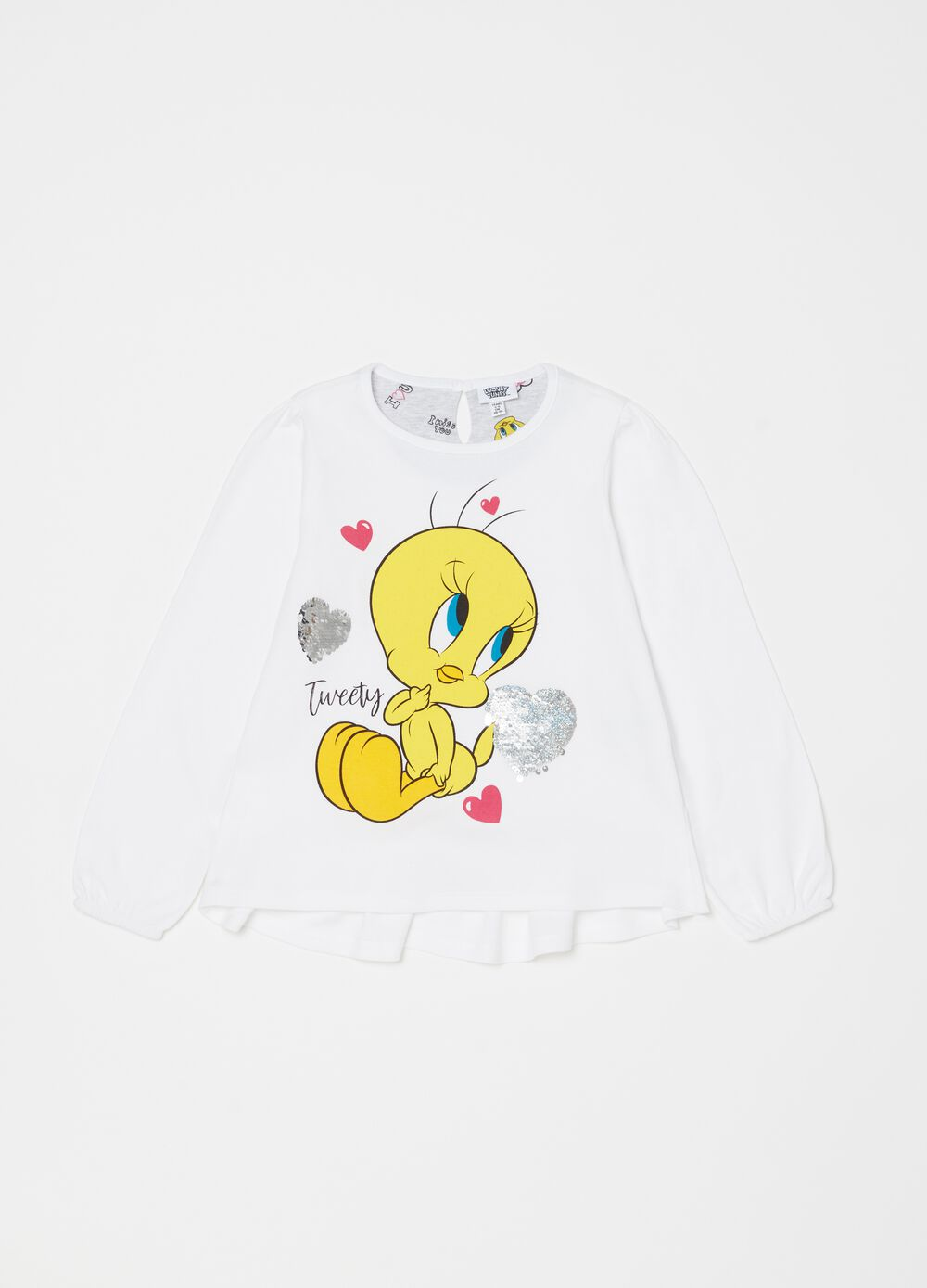 Warner Bros Tweetie Pie print pyjamas