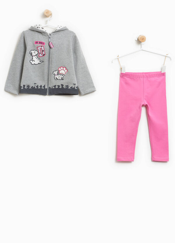Stretch cotton 101 Dalmatians tracksuit | OVS