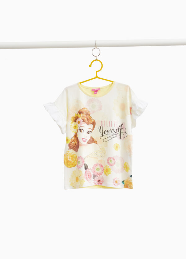 Beauty and the Beast maxi print T-shirt