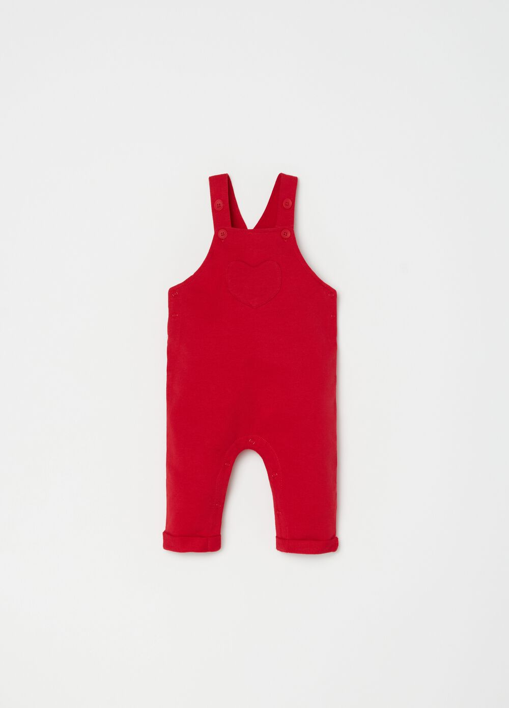 Dungarees in 100% organic cotton