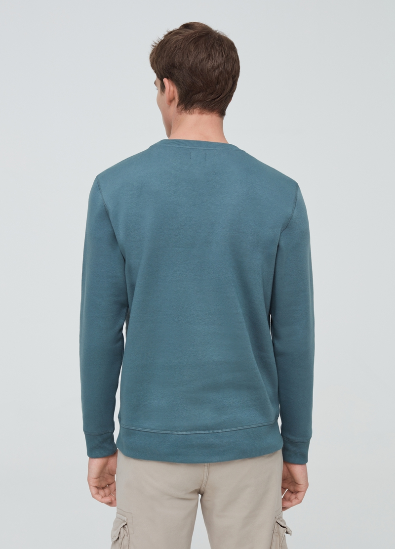 Maui and Sons sweatshirt with round neck and print image number null