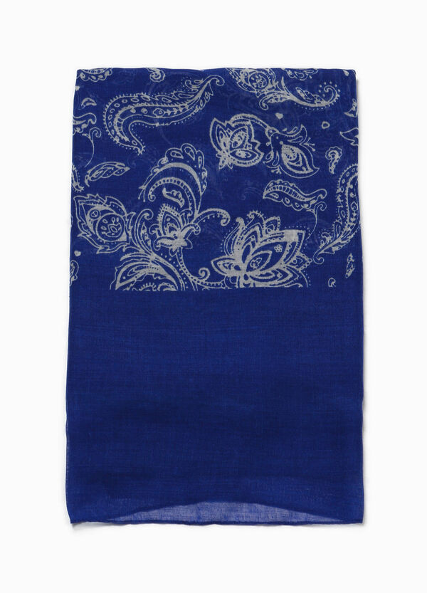 Scarf with floral print   OVS