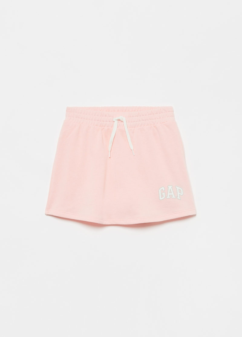 GAP fleece mini skirt with print image number null