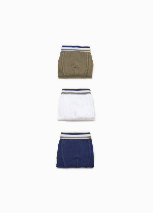 Set of stretch cotton boxer shorts | OVS