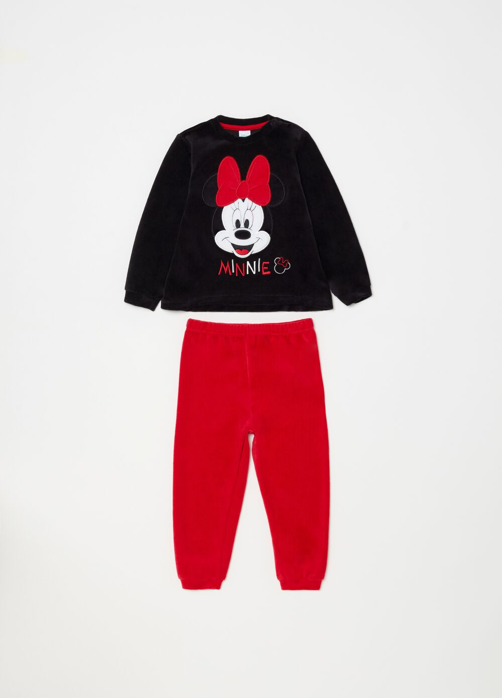 Long pyjamas with Disney Minnie Mouse embroidery