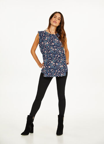 MUM all-over floral print blouse