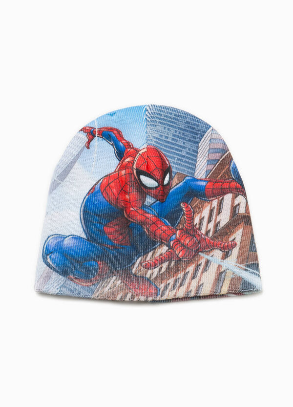 Knitted Spiderman beanie cap | OVS