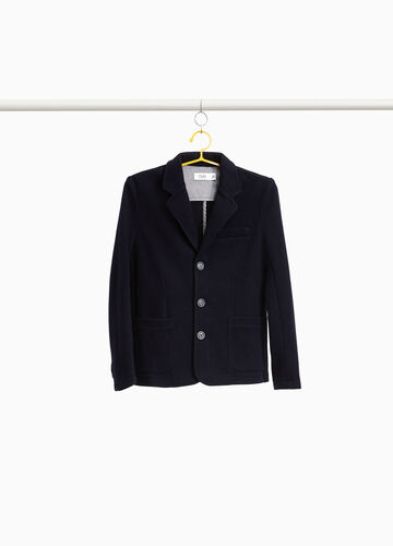 Three-button jacket with pocket