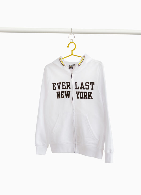 Everlast 100% cotton sweatshirt with zip