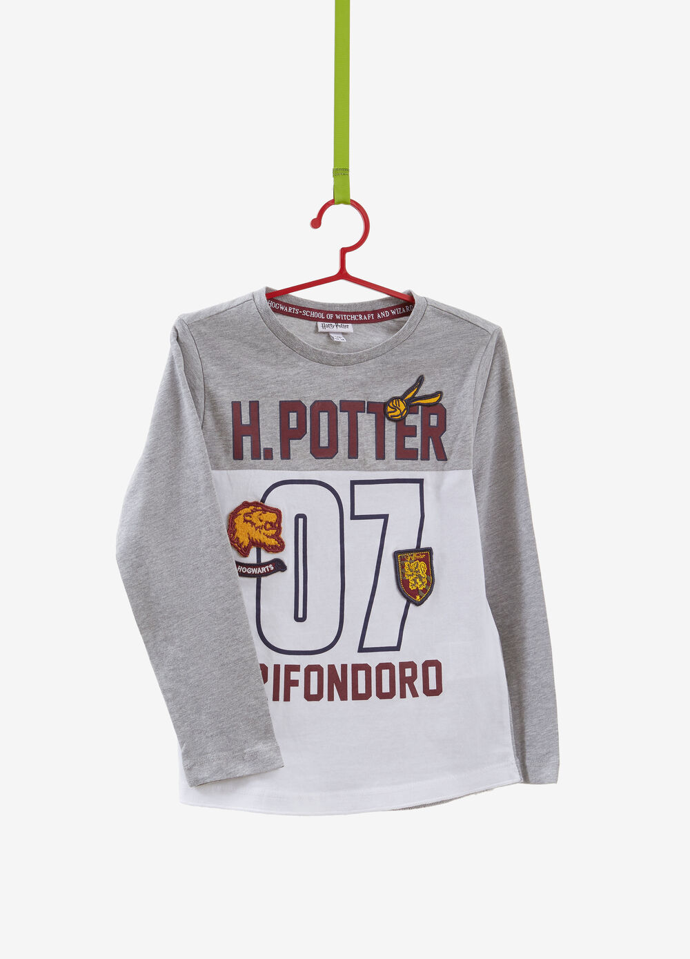 Cotton lend T-shirt with Harry Potter print
